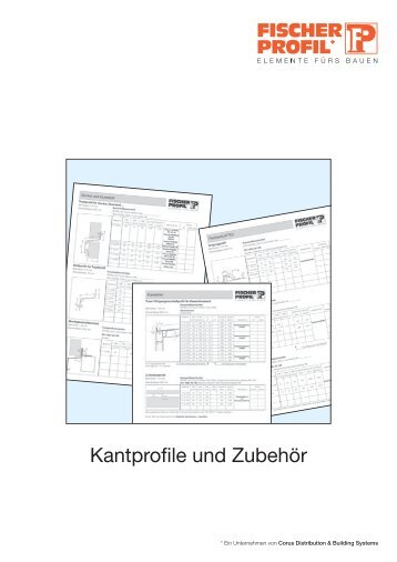 kantprofile und zubeh r fischer profil elemente f rs bauen. Black Bedroom Furniture Sets. Home Design Ideas