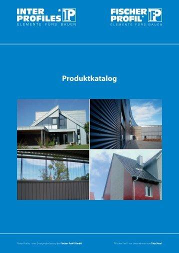 Produktkatalog - Fischer Profil | Elemente fürs Bauen