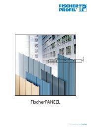 FischerPANEEL - Fischer Profil | Elemente fürs Bauen
