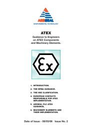 Guidance to Engineers on ATEX Components and Machinery ...