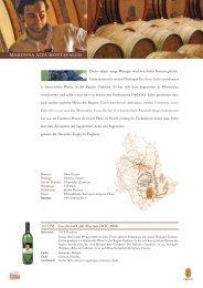 Flyer La Spinetta - Fischer + Trezza Import GmbH