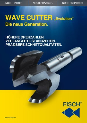 "WAVE CUTTER. ""Evolution"" - Fisch-Tools"