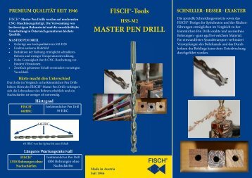 MASTER PEN DRILL - Fisch-Tools