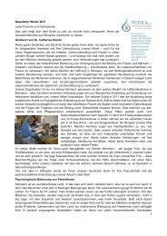 Newsletter Winter 2011 Liebe Freunde und Interessierte ... - Fistula eV
