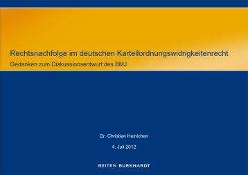 Dr. Christian Heinichen