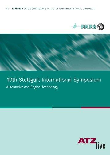 10th Stuttgart International Symposium - FKFS