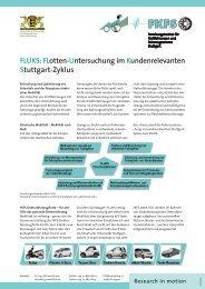 FLUKS: FLotten-Untersuchung im Kundenrelevanten ... - FKFS