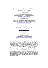 Testautomatisierung für Steuergeräte-Software mit ... - FKFS
