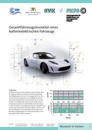 Gesamtfahrzeugsimulation eines batterieelektrischen ... - FKFS