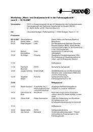 Programm - FKFS