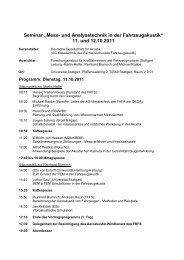"""Seminar """"Mess- und Analysetechnik in der Fahrzeugakustik ... - FKFS"""