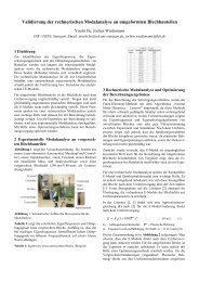 Validierung der rechnerischen Modalanalyse an ... - FKFS