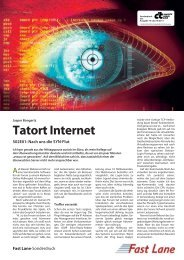 Tatort Internet - Fast Lane