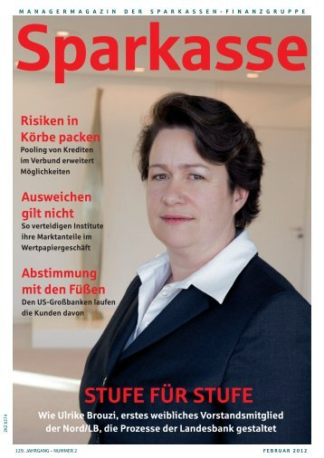 STUFE FÜR STUFE - Sparkassenzeitung