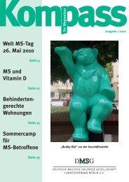 KOMPASS 1/10 - Deutschen Multiple Sklerose Gesellschaft