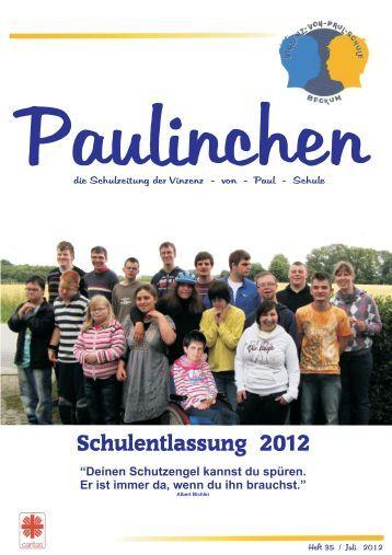Heft 35 - Juli 2012 - vinzenz-von-paul-schule