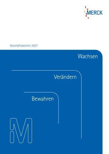 Merck Geschäftsbericht 2007 - Merck Schweiz