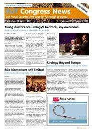 EUT Congress News - EAU Annual Congress - Vienna 2011