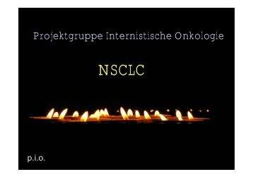 Projektgruppe Internistische Onkologie