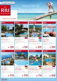 TOP Angebote - TUI ReiseCenter