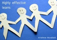 Highly effective teams - Thrive