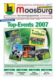 Top-Events 2007 - Marktgemeinde Moosburg