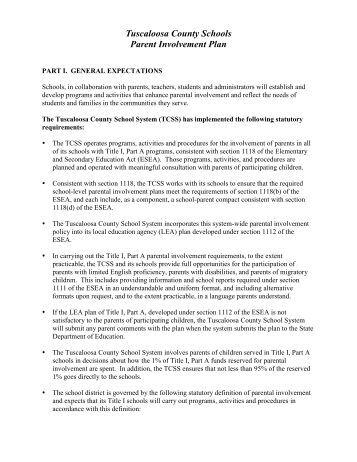 parent involvement plan template - klamath county standard long distance parenting plan