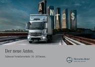 Der neue Antos. - Daimler FleetBoard GmbH