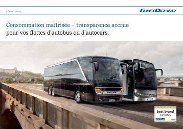 Brochure FleetBoard (PDF, 2,7 Mo) - Setra