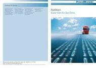 FleetBoard. Klarer Kurs für Ihre Flotte. - Daimler FleetBoard GmbH