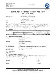 gutachten zur erteilung der abe 46249 366-0445-05-murd