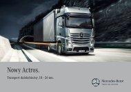 Nowy Actros. Transport dalekobieżny. 18 - Daimler FleetBoard GmbH