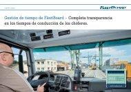 FleetBoard Time Management - Daimler FleetBoard GmbH