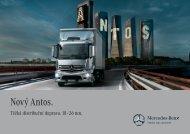 Nový Antos. - Daimler FleetBoard GmbH