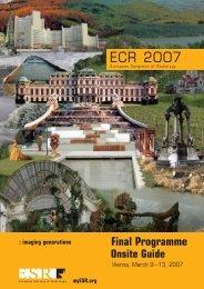 final programme 2007 - myESR.org