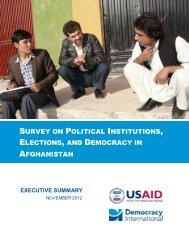 Afghanistan Survey 2012 - Executive Summary and Statistics.pdf