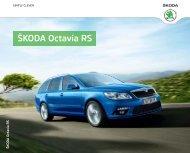 ŠKODA Octavia RS - Skoda