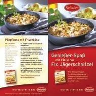 Download: Rezeptheft Jägerschnitzel - Fleischer