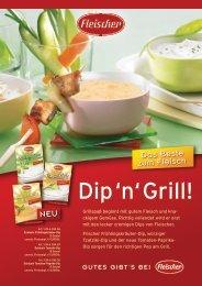 Produktfolder Dip 'n' Grill - Fleischer