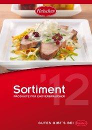 Sortimentsliste 2012 - Fleischer