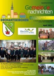 April 2012 - Gemeinde Dechantskirchen