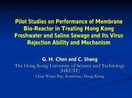 Pilot Studies on Performance of Membrane Bio-Reactor in Treating ...