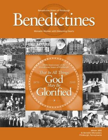 God Glorified - Benedictine Sisters of Pittsburgh