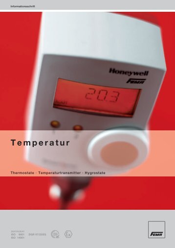Temperatur - FEMA Honeywell