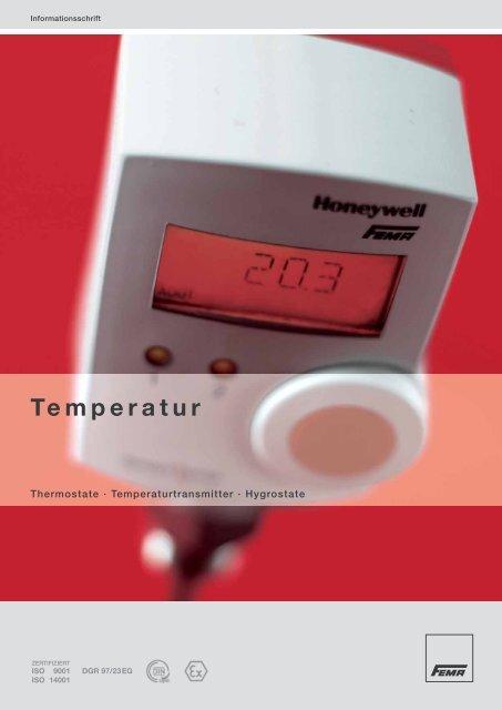 Temperatur - FEMA Honeywell