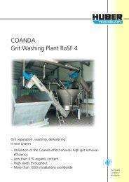 COANDA Grit Washing Plant RoSF 4 - brochure english