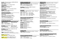 St. Felix , Mittelschule Holzweg 12 0463/886 282 08:30 – 09:00 Uhr ...