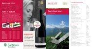 GuestCard 2013 - Intranet Dorf Tirol
