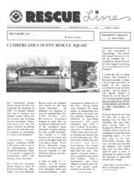 Volume 9, Number 1 - Tennessee Association of Rescue Squads, Inc.