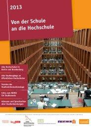 erhältlich - Studieren in Berlin und Brandenburg